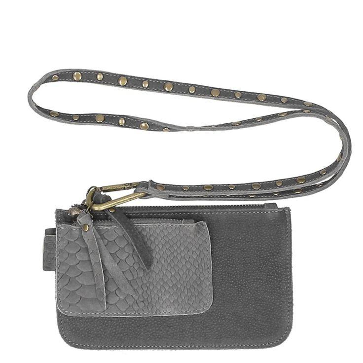 Label 88 Beijing Double Tasje (clay) - Travelbags.nl