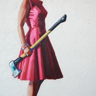 Axe by Kelly Reemtsen: Kelly Reemtsen, Kelly Reemsten, Modern Art, Art Paintings, Girls Generation, Crazy Lady, Fashion Accessories, Kellyreemtsen, Little Black Dresses