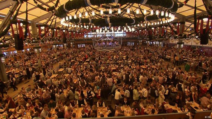 150 years ago, the Schottenhamel family set up their first beer booth at the Munich Oktoberfest. Now, they run one of the event's largest beer tents. It's the place where the first keg is tapped every year.