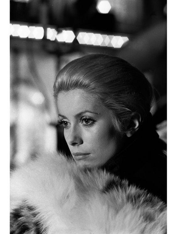 Catherine Deneuve dans le film « La chamade » réalisé par Alain Cavalier en 1968.