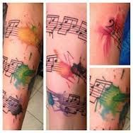 abstract watercolor tattoo - Google Search