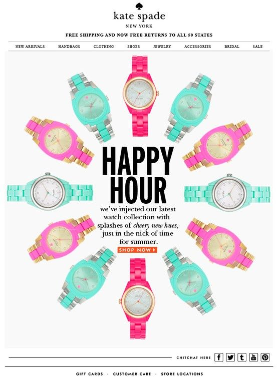Kate Spade Happy Hour
