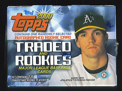 Baseball Cards 213: 2000 Topps Traded Baseball Factory Set -> BUY IT NOW ONLY: $103.5 on eBay!