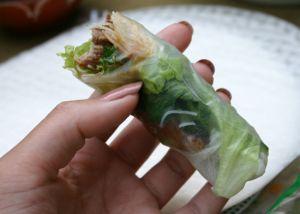 Ik maakte voor het eerst kennis met de échte Vietnamese cuisine (dus niet het eten van de loempiakar) bij restaurant Saigon te Utrecht. Hier serveren ze heerlijke verse loempia's die je zelf moet vullen en rollen. Hartstikke leuk om te doen en echt super lekker! Gisteren heb ik ze voor het eerst zelf gemaakt en …