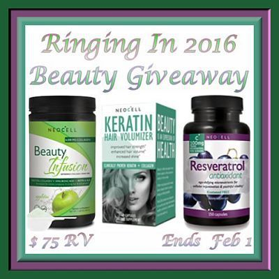 Ringing In 2016 Beauty #Giveaway Ends Feb. 1