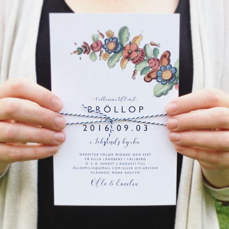 Unika och personliga trycksaker till bröllop. Inbjudningskort till bröllop, dop, fest. Personliga posters för hela familjen.