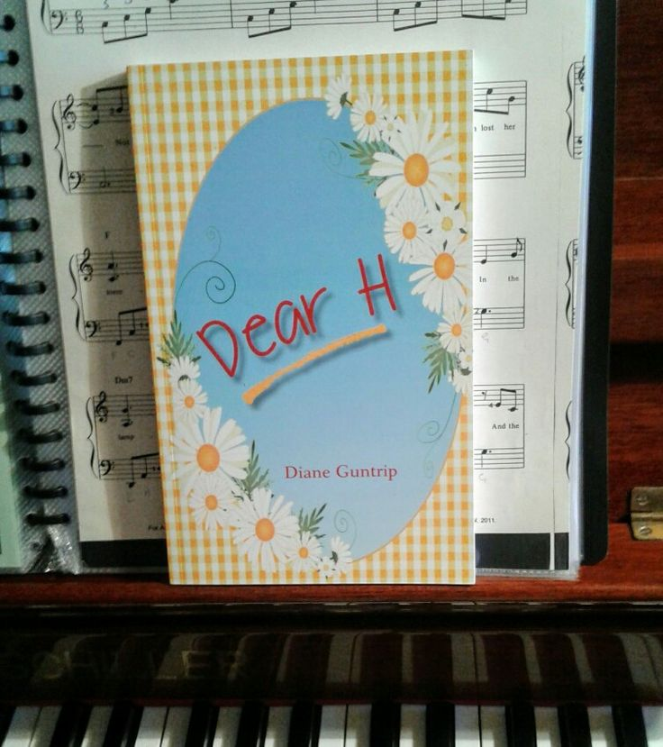 'Dear H'  by Diane Guntrip written for girls from 10 - 14 years.