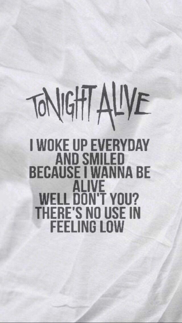 Hell and Back // Tonight Alive lyrics