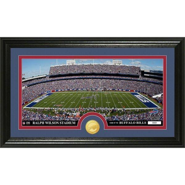 "NFL Buffalo Bills ""Stadium"" Bronze Coin Panoramic Photo Mint"