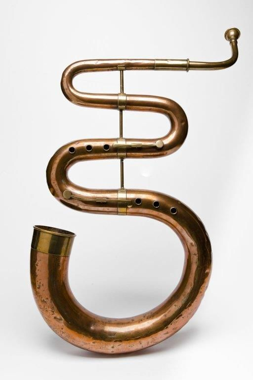 Copper & brass Serpent (Joseph Taylor ca 1815) | Wind ...