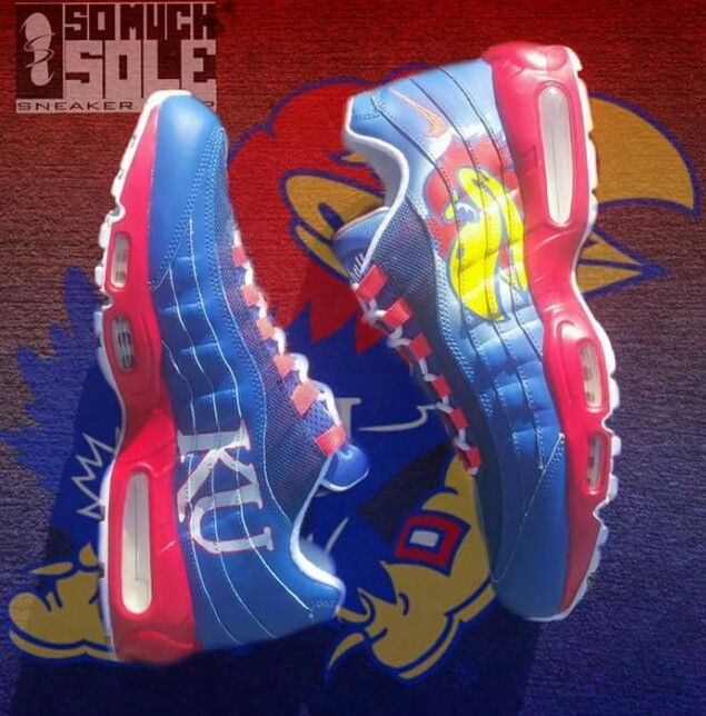 Kansas Jayhawk Running Shoes