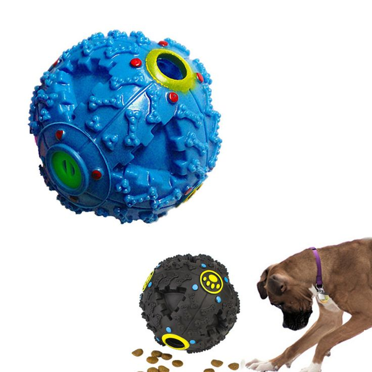 Trumpet Sound Leakage Funny Food Ball Dog toy Pet shrieking Ball Puzzle Resistant Teeth Bite Perros Toys For small medium-dogs