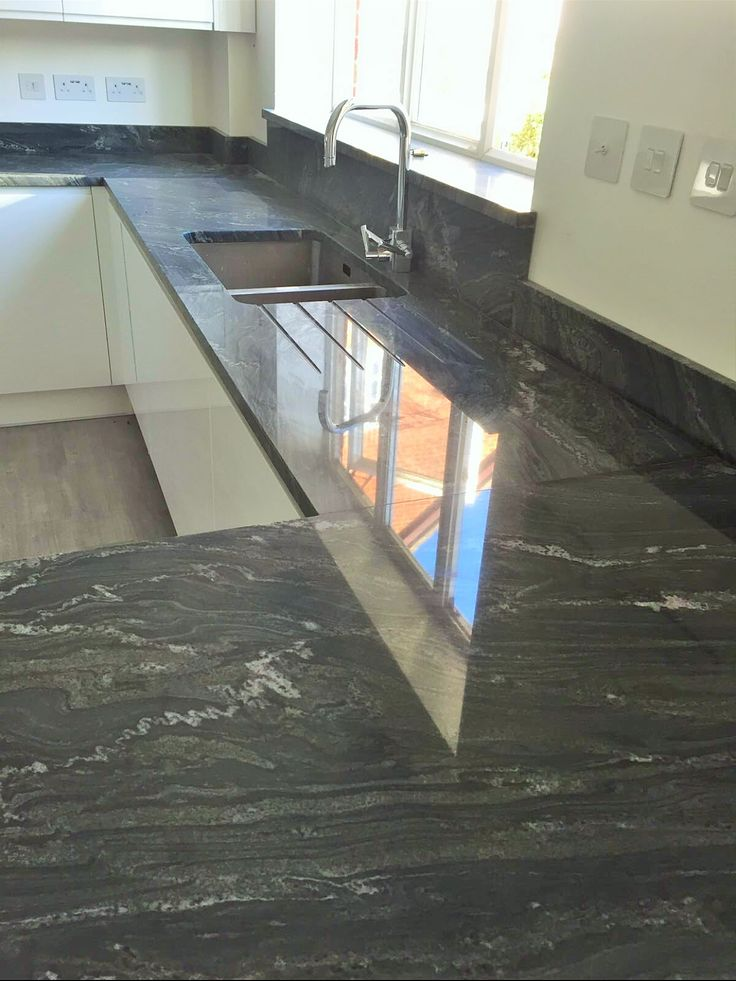 Silver Forest Granite  Kitchen WorktopsGraniteForestsGranite CountersWoods