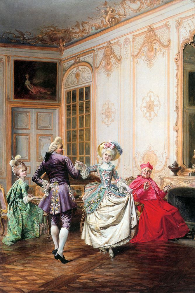The Musical Interlude (Francois Brunery - 1885)