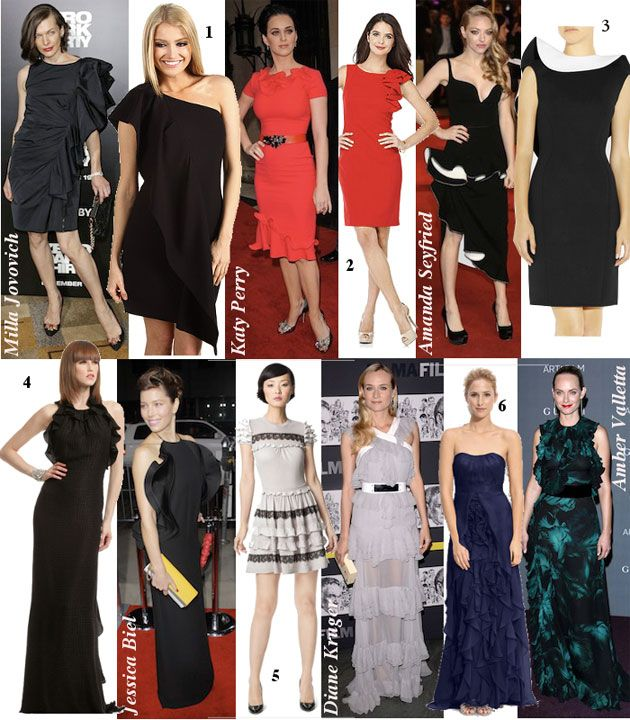 Be ravishing in ruffles like amanda seyfried milla jovovich diane kruger and other celebs