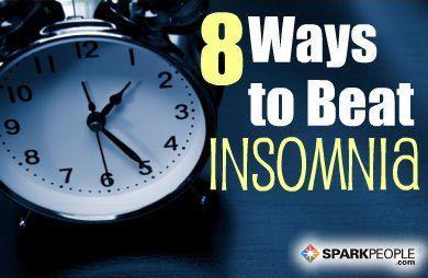 8 Ways to Sleep Better Tonight | via @SparkPeople #health #wellness #insomnia