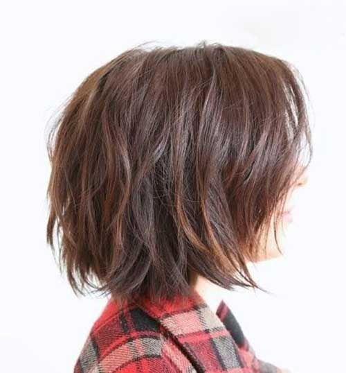 Cute Layered Bob Haircuts 2015
