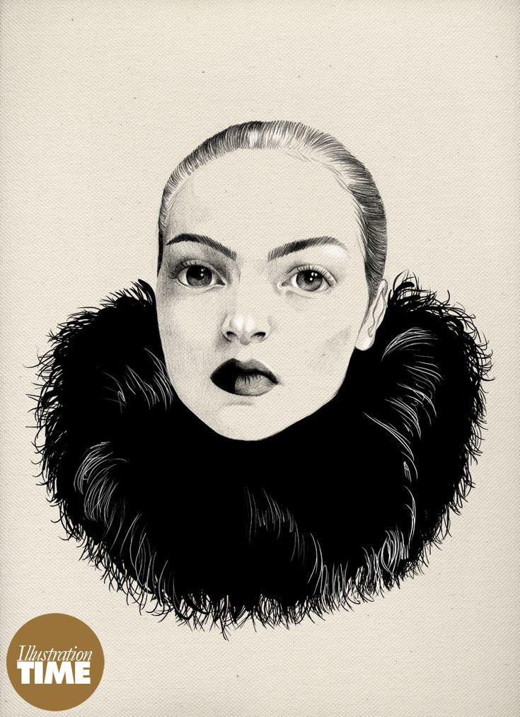 Oiseau Rare illustration par Stéphanie Rousseau