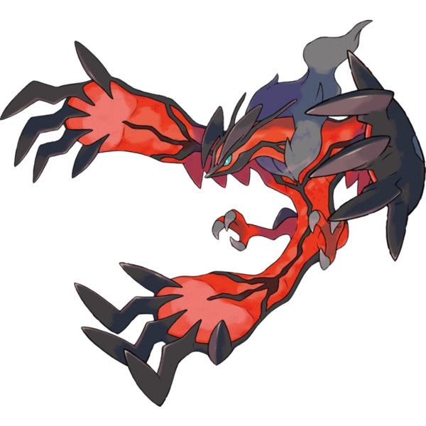 File Yveltal.png ❤ liked on Polyvore featuring pokemon