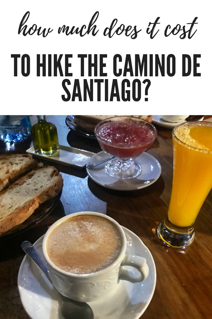 How much does it cost to hike the Camino de Santiago? Other than supplies and travel expenses to and from Spain, day-to-day expenses are mainly albergues (dorm rooms) and food.