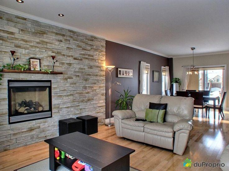 17 meilleures id es propos de murs en pierre fausse sur. Black Bedroom Furniture Sets. Home Design Ideas