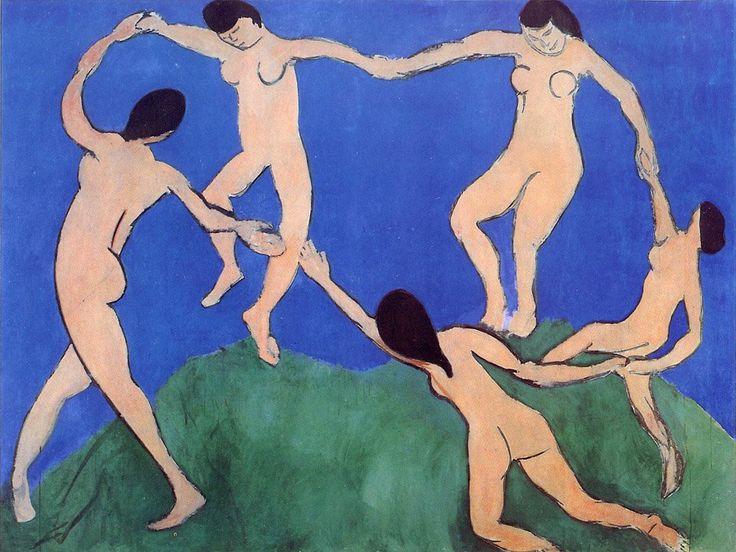 "Matisse - ""The Dance"" - (first version; 1909)"