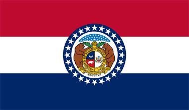 "MISSOURI State Flag - Nickname ""The Show Me State"""