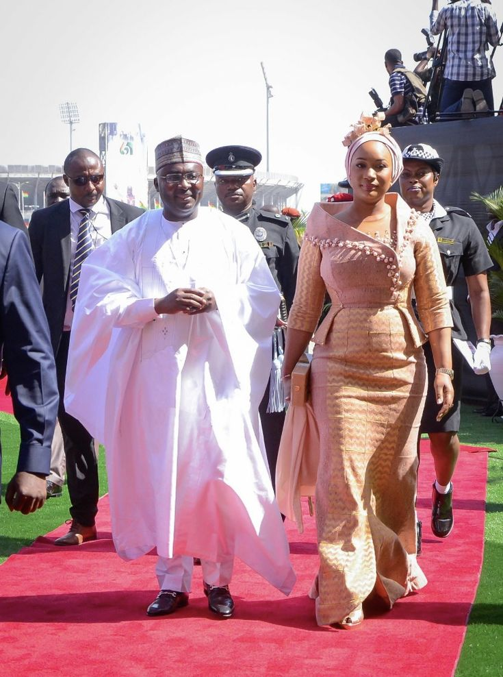 Mr. and Mrs. Bawumia