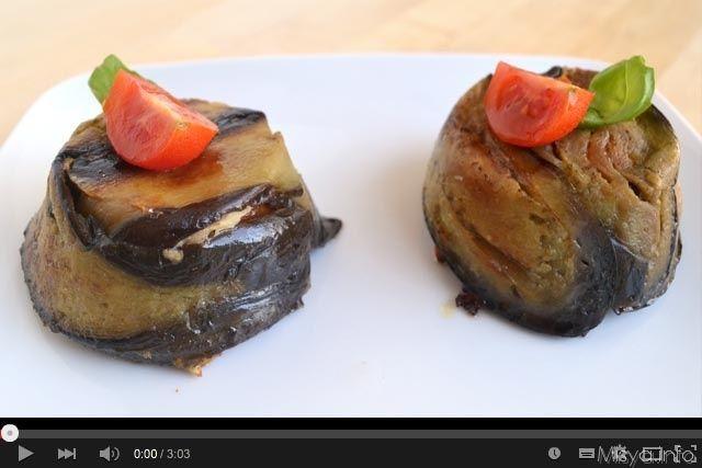 » Video ricetta timballini di pasta alle melanzane Ricette di Misya - Ricetta Video ricetta timballini di pasta alle melanzane di Misya