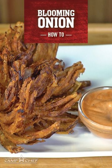 Whenever a recipe calls for deep frying, it's hard to go wrong. This blooming onion recipe is no exception. Grab an onion, and turn it into something incredible and delicious. Try it for the big game this weekend! http://www.campchef.com/recipes/fried-blooming-onion/