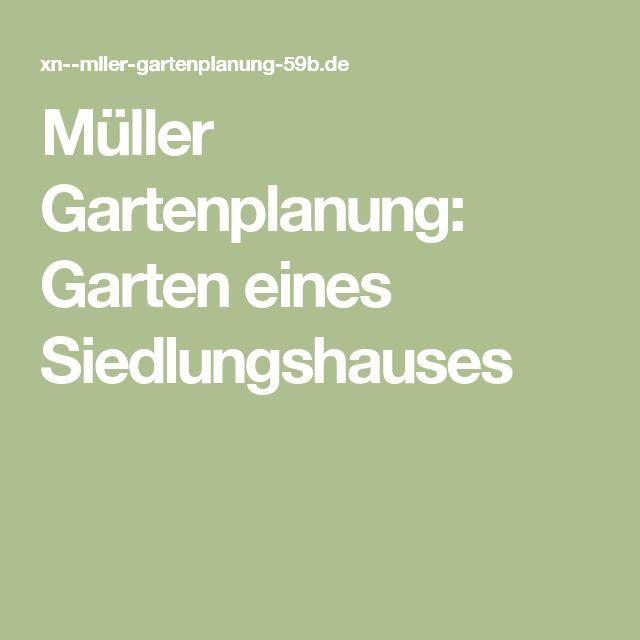 Müller Gartenplanung: Garten eines Siedlungshauses