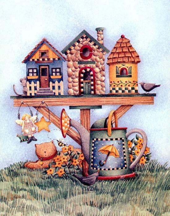 Casa de pájaros 23