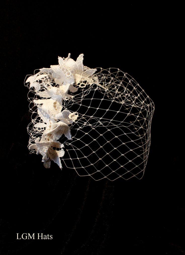 LGM Hats Bridal www.lgmhats.com