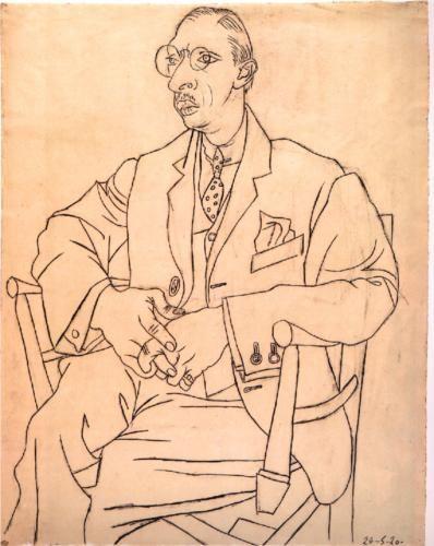 igor stravinsky. picasso 1920