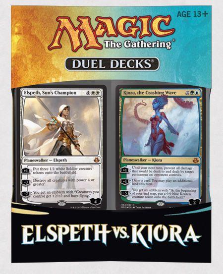 DUELS DECKS: ELSPETH VS. KIORA
