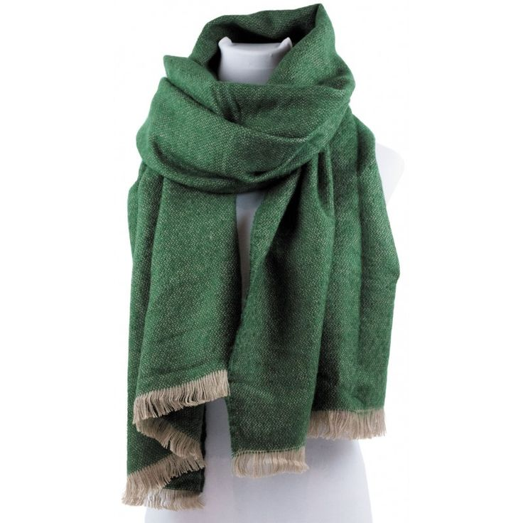 NEW COLLECTION WINTER 2016 SCARF GREEN ACCESSORIES WHOLESALE SIMI