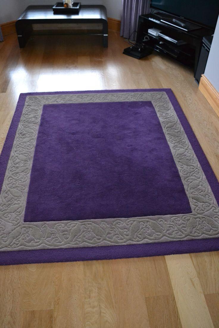 Custom Made Rug Designed By Conbu Interior Design As Part Of Living Room Refurbishment Project