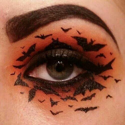 Awesome Halloween Eye Makeup Designs!
