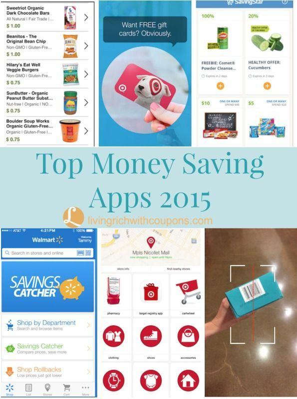 Top Money Saving Apps 2015 - Savings has never been easier!