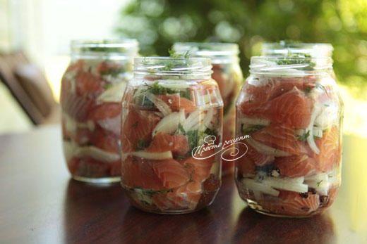 ★★★★★ Домашние консервы из рыбы – рецепт приготовления с фото и пошаговой инструкцией. Кулинарный сайт 'Просто рецепт' - с нами готовить просто!
