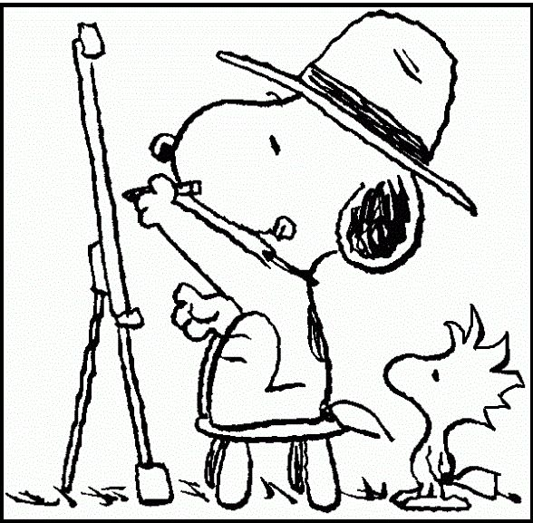 35 best Snoopy images on Pinterest | Coloring pictures for kids ...