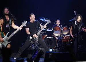 Metallica Band Live
