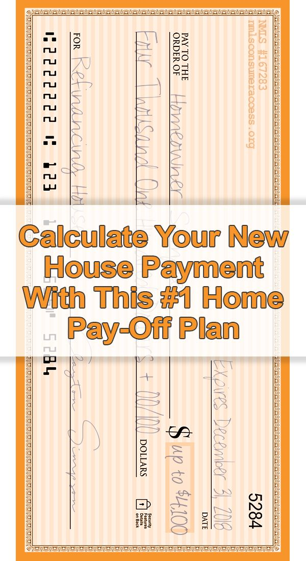 How To Pay Off Your House ASAP (It's Genius) - If you owe less than $625,000, you could take advantage of a mortgage bailout designed for the middle class (PROGRAM EXPIRES NEXT YEAR). See how much you can save! Calculate Your New House Payment Now!