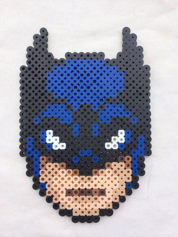 Batman Perler Bead Sprite for sale by PrettyPixelations!
