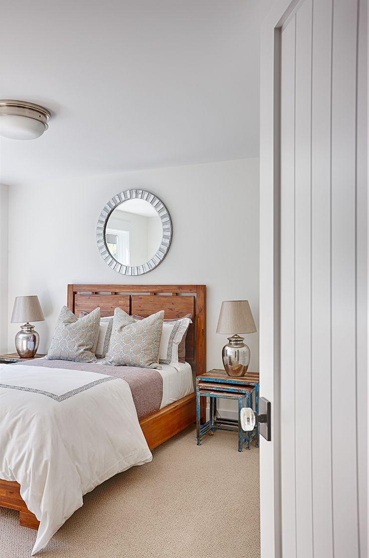 vintage farmhouse guest bedroom wall color is benjamin. Black Bedroom Furniture Sets. Home Design Ideas