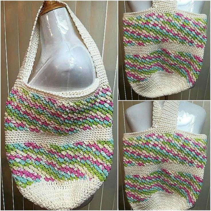 CLEARANCE SALE Crochet Tote Bag, Beach Bag, Market Bag, Cream Tote Bag, Beach Tote, Shopping Tote, Shoulder Bag, Crochet Handbag by CozyNCuteCrochet on Etsy