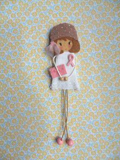 Little Chic Things Broches de Fieltro: NUEVAS LITTLES SOLIDARIAS