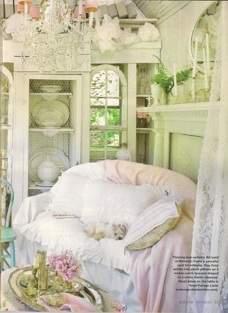 So shabby chic and beautiful.