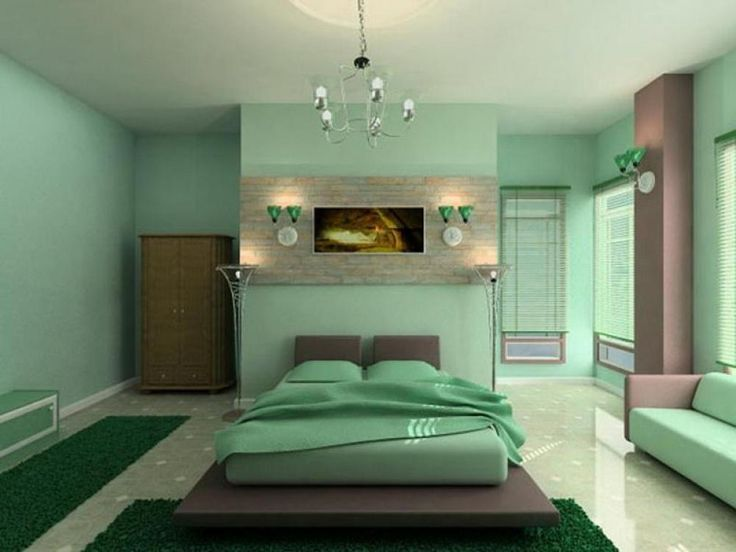 Pretty Master Bedrooms Green Paint Color Combination Large Space Look  Master Bedroom Home Decorating Ideas With
