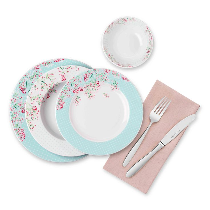 Bernardo Smirna Kahvaltı Takımı / Breakfast Set #bernardo #breakfast #tabledesign #blue #mavi